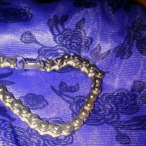 Jewelry - Vintage 90s bike chain bracelet